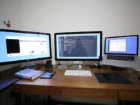 パソコンデスクをL字型にしたらメチャ作業効率がよくなった