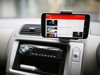 Nexus6を車に付けるスマートフォンホルダーはNAPOLEXがピッタリ